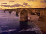 Sunset at 12 Apostles, Port Campbell NP, Victoria, Australia Photo by Howie Garber