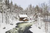 Myllykoski Rapids and Old Mill, Oulankajoki NP, Kuusamo, Finland Photo by Peter Adams