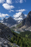 Mt. Assiniboine, Mt Magog, and Sunburst Lake as Seen from the Nublet Photo by Howie Garber