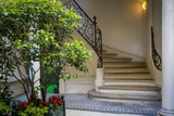 Curved Staircase in Saint Germain Des Pres, Paris, France Photo by Brian Jannsen