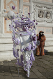 Venice, Italy. Mask and Costumes at Carnival Photo by Darrell Gulin