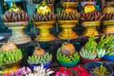 Myanmar. Yangon. Botataung Pagoda. Offerings of Fruit for Sale Photo by Inger Hogstrom