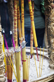 Asia, China, Macau, A-Ma Temple in Macau with Incense Burning Photo by Terry Eggers