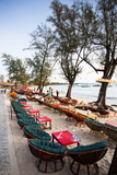 Bars and Restaurants Along Serendipity Beach, Sihanoukville, Cambodia Photo by Micah Wright