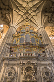 Spain, Salamanca, Cathedral Organ Photo by Jim Engelbrecht