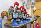Portugal, Obidos, Traditional Painted Black Roosters Photo by Lisa S. Engelbrecht