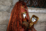 Darrell Gulin - Venice, Italy. Mask and Costumes at Carnival - Photo