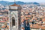 Nico Tondini - Campanile of Giotto and City View , Florence, Tuscany, Italy Photo