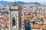 Campanile of Giotto and City View , Florence, Tuscany, Italy Photo by Nico Tondini