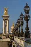 Ornate Pont Alexandre III with Hotel les Invalides, Paris, France Photo by Brian Jannsen