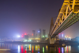 China, Chongqing, Dongshuimen Bridge Above Yangtze River Photo by Paul Souders