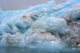 Norway. Svalbard. Nordaustlandet. Brasvelbreen. Textures of Icebergs Photo by Inger Hogstrom