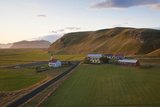 Church and Small Group of Houses Near Vik, Iceland Photo by Peter Adams