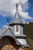 Romania, Rodna Mountains NP, Sesuri, Ski Resort, Town Orthodox Church Photo by Walter Bibikow