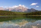 Canada, Alberta, Jasper NP, Pyramid Mountain and Patricia Lake Photo by Jamie & Judy Wild