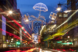 Oxford Street and Christmas Lights, London, UK Photo by Peter Adams