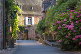 Street Scene in Town of Collonges-La-Rouge, Limousin, Correze, France Photo by Brian Jannsen