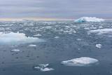 Norway. Nordaustlandet Island. Brasvelbreen. Brash Ice in the Water Photo by Inger Hogstrom