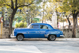 Blue 1951 Chevrolet Vintage Car on Streets of Regla, Cuba Photo by Emily Wilson