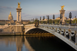 River Seine, Pont Alexandre III and Hotel les Invalides, Paris, France Photo by Brian Jannsen