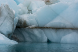 Norway. Svalbard. Brasvelbreen. Turquoise Ice Bergs in the Calm Water Photo by Inger Hogstrom