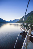 New Zealand's Remote Doubtful Sound. an Morning Sunrise in the Area Photo by Micah Wright