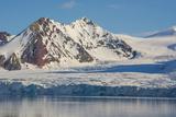 Norway. Svalbard. Hornsund. Mountains Surrounding the Fjord Photo by Inger Hogstrom