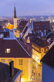 View of Old Town at Dusk, from Toompea, Tallinn, Estonia Photo by Peter Adams
