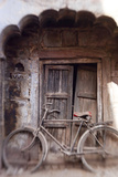 Bicycle in Doorway, Jodhpur, Rajasthan, India Photo by Peter Adams