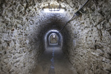 Romania, Transylvania, Turda, Turda Salt Mine, Interior Passageway Photo by Walter Bibikow