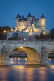 Twilight over the City of Maine-Et-Loire, Centre, France Photo by Brian Jannsen