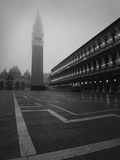 Europe, Italy, Venice. Campanile at Piazza San Marco at Sunrise Photo by Bill Young