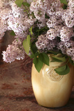 Lilac Flowers in Vase Photo by Anna Miller