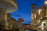 Twilight in Piazza del Comune, Assisi, Umbria, Italy Photo by Brian Jannsen