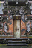 Indonesia, Bali. Hindu Temple Door at Pura Tirta Empul Temple Photo by Emily Wilson