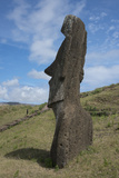 Chile, Easter Island. Rapa Nui NP, Historic Site of Rano Raraku Photo by Cindy Miller Hopkins