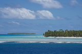 Cook Islands. Palmerston Island, a Classic Atoll Seascape Photo by Cindy Miller Hopkins