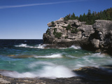 Canada, Ontario, Lake Huron in Bruce Peninsula National Park Photo by Mike Grandmaison