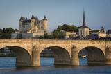 Chateau Saumur Along River Loire, Maine-Et-Loire, Centre, France Photo by Brian Jannsen