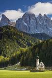 Saint Johann Church, Val di Funes, Trentino-Alto-Adige, Italy Photo by Brian Jannsen