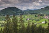 Romania, Transylvania, Tihuta Pass, Mountain Buildings of the Pass Photo by Walter Bibikow