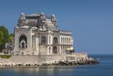 Romania, Black Sea Coast, Constanta, Constanta Casino Building Photo by Walter Bibikow