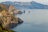 View of Volcano Island from Quattrocchi, Lipari Island, Sicily, Italy Photo by Peter Adams