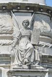 Portugal, Lisbon, Monument of Alfonso de Albuquerque Detail Photo by Jim Engelbrecht