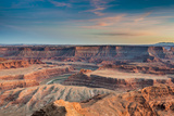 Sunset at Deadhorse Point SP, Colorado River and Canyonlands NP Photo by Howie Garber