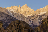 Mt. Whitney at Dawn with Rocks of Alabama Hills, Lone Pine, California Photo by Rob Sheppard