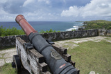 Us Territory of Guam, Umatac. Fort Soledad. Cannon and Philippine Sea Photo by Cindy Miller Hopkins
