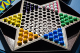 New York City, NY, USA. Chinese Checkers Game Photo by Julien McRoberts