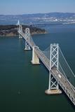 California, Bay Bridge, San Francisco Bay to Yerba Buena Island Photo by David Wall