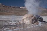 A Small Geothermal Fumarole Emitting Steam at El Tatio Geyser Photo by Mallorie Ostrowitz